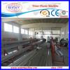 wood plastic composite upvc door window extruder machine