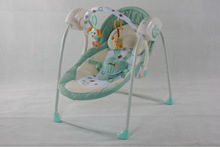 Baby Electric Swing Cradle Wtih Intelligent Pulling Musical Puppy