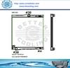 Custom Aluminum Radiator For BMW X5,E70,3.0
