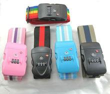 3 dial luggage strap tsa lock