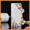Beautiful Phone Cases Love Seashells/Dancing Girl/Eiffel Tower Wallet Diamond Flip Cases