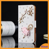 Flip Diamond Wallet Case Leather Phone Case for iphone4/4s/5/5s Case Cellphone