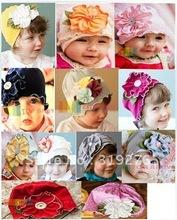 TOP baby hat , flower spring cap baby hat children baby bonnet JPhat045
