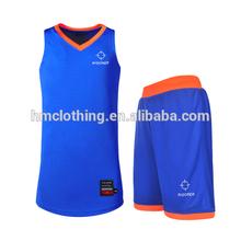 OEM top quality basketball uniform design
