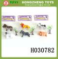 venta al por mayor de los animales de juguete de plástico de animales de granja modelos baratos juguete de los animales de granja conjunto caliente venta de animales de mundo para los niños h030782