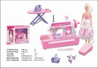 my happy family house toy,kids iron toys,sewing machine toy Y89165