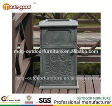 super cheap Cast Aluminium iron garbage can