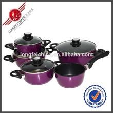 Hot Sale Kitchen Utensil Aluminium Cookware Induction Nonstick Cookware Sets