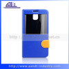 pu style OEM&ODM accepted blue case for Samsung note 3