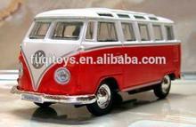 1:32 diecast bus model car with light music door can open