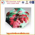 ombrello fabbrica di porcellana 21inchx8k tre volte auto auto open close ombrello cornice parti