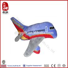 Chinesa daron southwest airlines pelúcia bateria- operado brinquedos de pelúcia brinquedo helicóptero avião com som