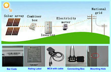 Expertised Bluesun design home use on grid or off-grid portable solar power/home system