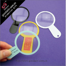 magnifying glass lens / plastic toy magnifying glass / mini magnifying glass