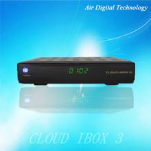 linux media box iptv Cloud Ibox 3 Hybrid tuner DVB-S2+DVB-T2/C satellite tv receiver