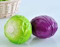 Decoración de frutas artificiales fotografía apoyos/alta vegetales de simulación de col la decoración del hogar/artesanía de plástico col