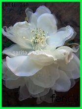 artificial magnolia flower velvet & organza magnolias for garden wedding