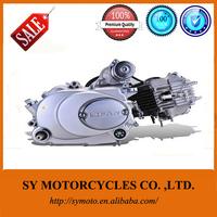 Horizontal electric starting manual 90cc lifan motorcycle engine