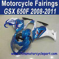 Distribution Welcomed 2008-2011 For Suzuki GSX 650F Motorcycle Body Cowl Blue FFKSU019