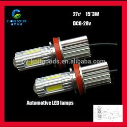 Factory Sale DC8-28V 45W High Power 680lm white led bar fog light