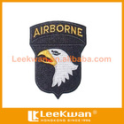 eagle airborne figures logo embroidery patch