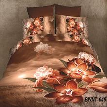Fancy new design 3d flower bedsheet wholesale