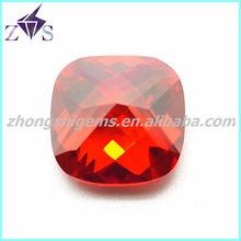 2014 popular hot sale cushion loose diamond cut cubic zirconia 1mm cz