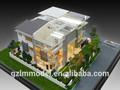 Villa modelo a escala / bienes raíces del modelo de escala que hace