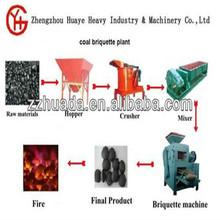 Mine powder ball press machine / Coal ash briquette production line