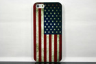 The American flag custom design printing protective case for iphone 5 (IPH5-001)