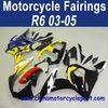 100% Fitment 03 04 05 For Yamaha R6 Motorcycle Full Fairings Moon Sun FFKYA009