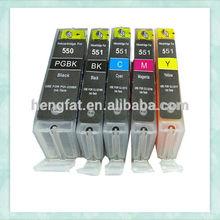 For Canon Printer Cartridges PGI550 CLI551 Ink Cartridge