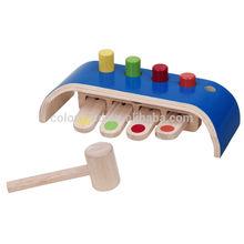 wooden hammer toy set