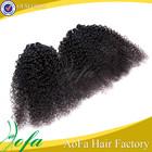 Excellent quality premium jerry curl brazilian hair weave bundles