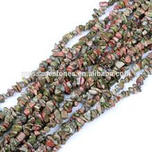 Natural raw rough tumbled stone jewelry beads