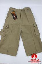 ppbear boys shorts khaki chinos pants trousers/cargo pants