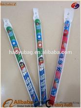 OEM made long tube plastic ice pop packaging bag