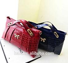 D15 New fashion pu Crocodile Lady package women bag