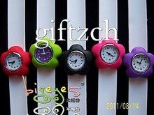 Flower children Silicone Slap wristband Watch