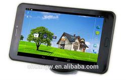 7 gps navigation wifi bluetooth 3G MTK8382 Quad Core GPS 1G 8G capacitive android gps navigator sim card