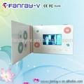 """4.3"""" الفيديو lcd بطاقة الإعلان، الشحن مجانا بطاقة الفيديو، مشغل فيديو بطاقات المعايدة"""