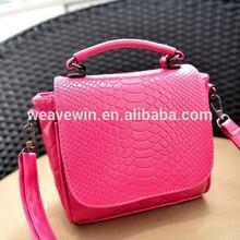 Popular branded Eco-Friendly shopping PU pvc beach handbag