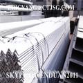 2014 galvanizado L ángulo de barras de acero y angular bares