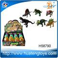 2013หีประกอบพลาสติกสัตว์ไข่ไดโนเสาร์ของเล่นเติบโตสำหรับการขายสำหรับเด็ก