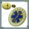 Hard Enamel Collar Lapel Badge Paramedic Star of Life EMT EMS Rescue Emergency Ambulance Golden Pin Badge Fashion Eighties Gifts