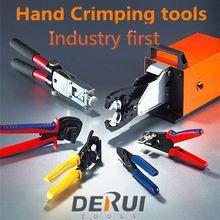 Derui tools crimper Pneumatic RJ45