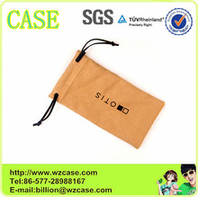 2014 WENZHOU CASE microfiber small drawstring pouches D10