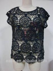 big size woman crochet knitwear
