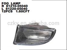 98-02 TOYOTA AVENSIS FOG LAMP OEM R 81210-05040 L 81220-05040 DEPO: 212-2071-UE