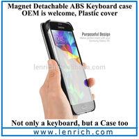 LBK311 New Sliding Mini Wireless Bluetooth Keyboard for Samsung Galaxy S5 i9600 Iphone 5 5S Android Bluetooth Keyboard Hard Case